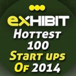 "Busigence won ""Exhibit Hottest 100 Startups of 2014"" award"